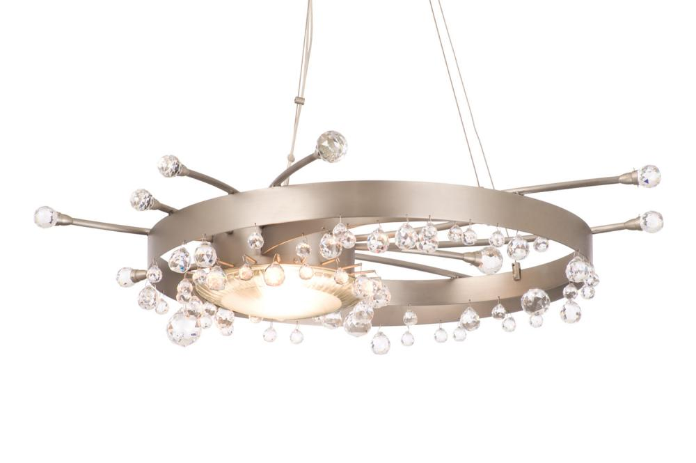 Galaxy 64 Inch Light Semi Flush