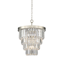 Savoy House 1 9805 4 109 Tierney Light Chandelier