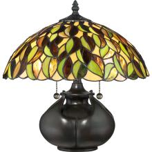 Quoizel Tf3181t Greenwood Table Lamp